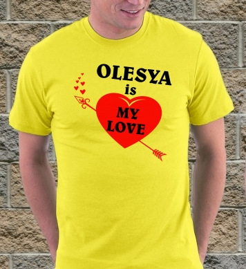 Olesya is my true love