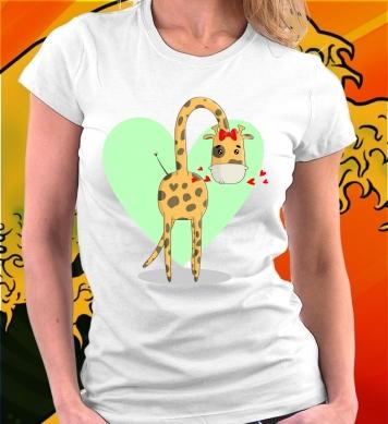 Жирафы мама