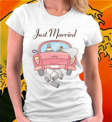 Just married авто