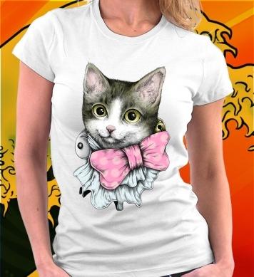 Котёнок с бантиком