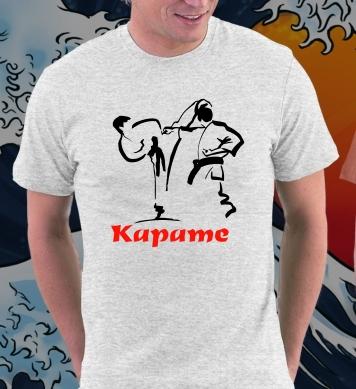 Karate sport fight