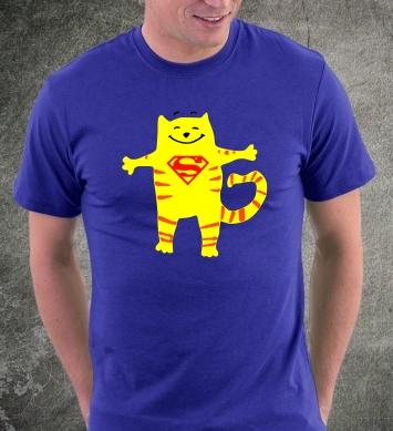 Кот Супермен