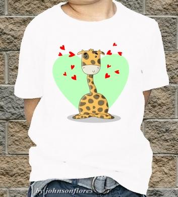 Жирафы ребёнок