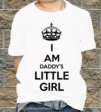 I am daddy's little girl