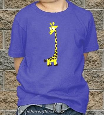 Симпатичный жирафик