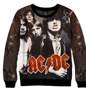 Свитшот AC/DC группа