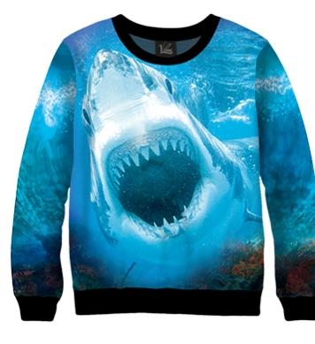 Свитшот Хищная акула