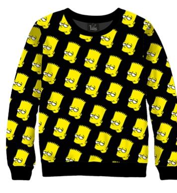 Свитшот Симпсоны Барт