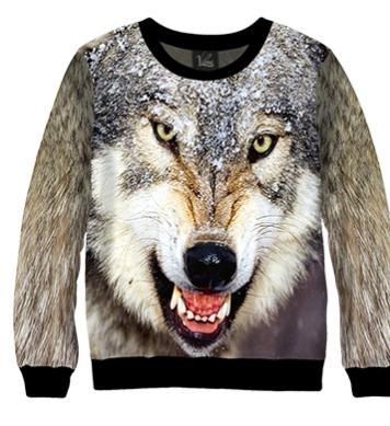 Свитшот Злой Волк