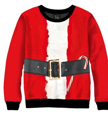 Свитшот Одежда Санта Клауса