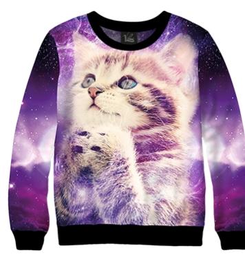 Свитшот Космический котенок
