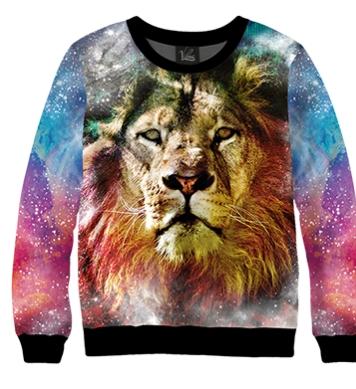 Свитшот Космический лев