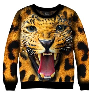 Свитшот Пасть леопарда