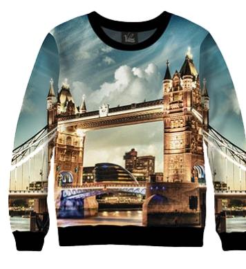 Свитшот Город Лондон