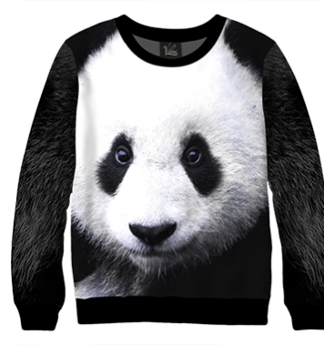 Свитшот Морда панды