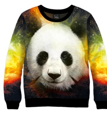Свитшот Космическая панда