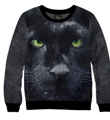 Свитшот Черная пантера