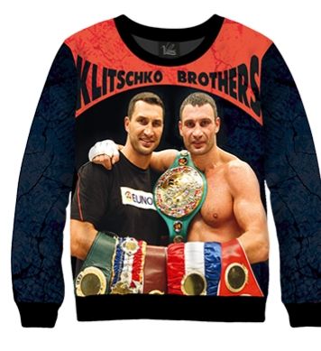 Свитшот Klitschko братья