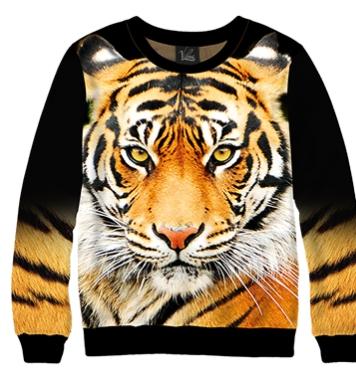 Свитшот Взгляд тигра