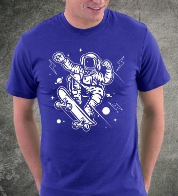 Космический скейтбордист