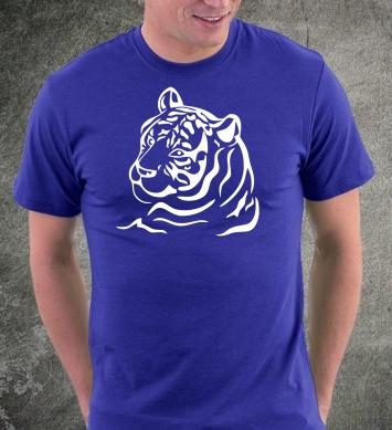 Спокойная улыбка тигра