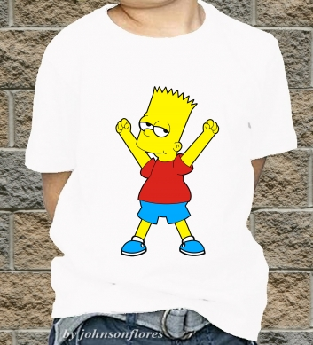 Bart from the Simpsons