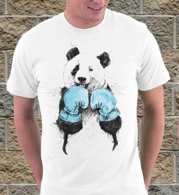 Панда в перчатках