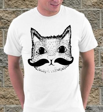 Кот с усиками