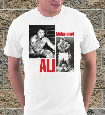 Muhammad Ali and ring