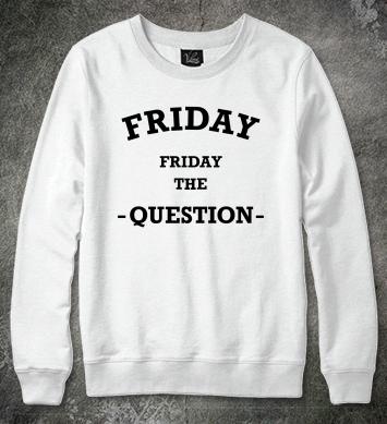 Friday question надпись