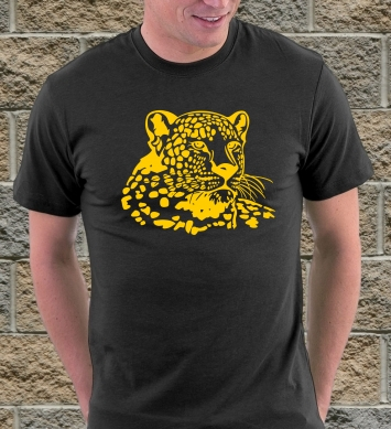 Спокойный леопард