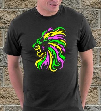 Цветной лев