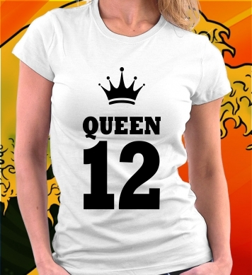 Queen 12 надпись