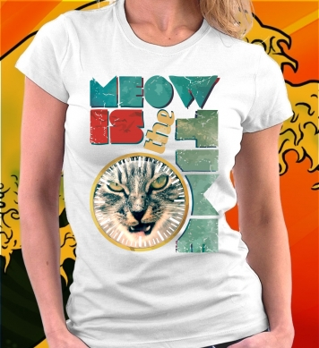 Meow is the time art