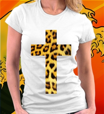 Крест леопардовой расцветки