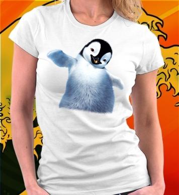 Маленький пингвиненок