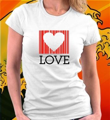 Любовь с сердечком