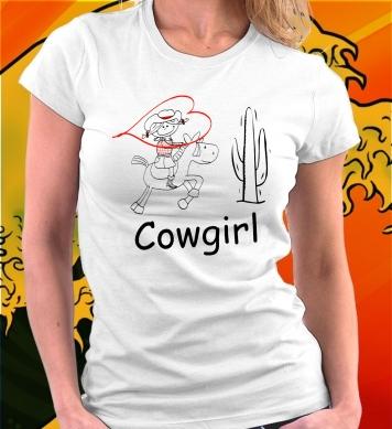 Cowgirl всадница
