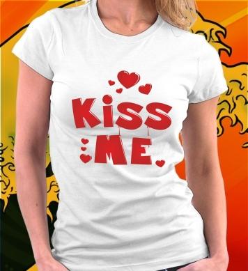 Любовь поцелуй (парная-woman)