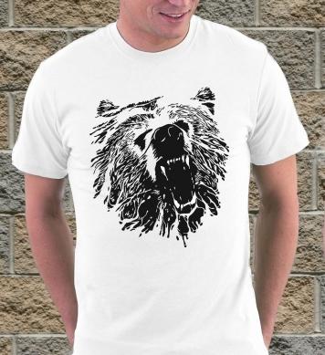Angry bear art