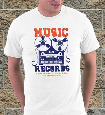 Music records art