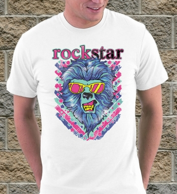 Rock star art