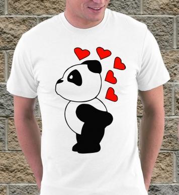 Панда с сердечками парная (м)
