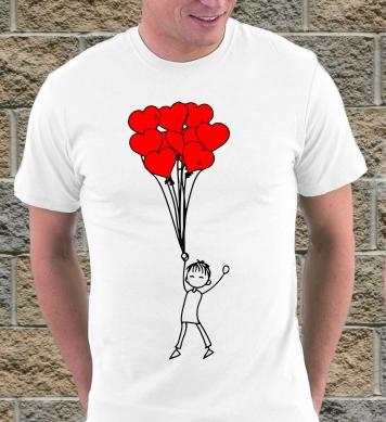 Влюбленные с шариками (муж)