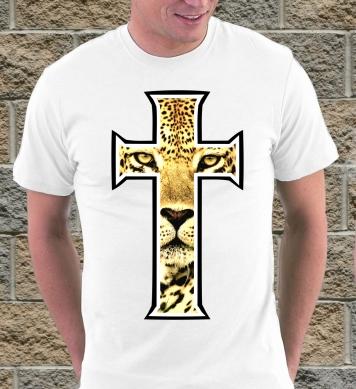 Леопард в кресте