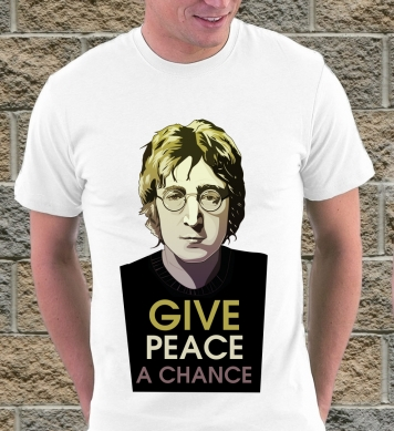 Lennon Give piece a chance