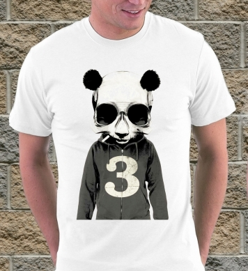 Панда в маске