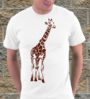 Африканский жираф арт