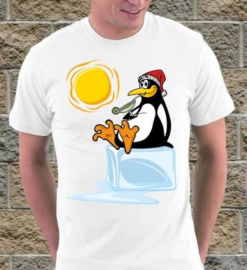 Пингвин на отдыхе