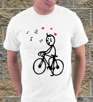 Влюблённый велосипедист